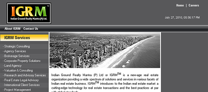 Indian Ground Realty Mantra